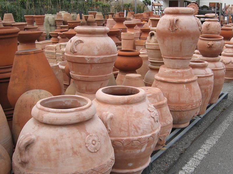 Gardenflora trio terrecotte vasi da giardino e - Giare da giardino ...